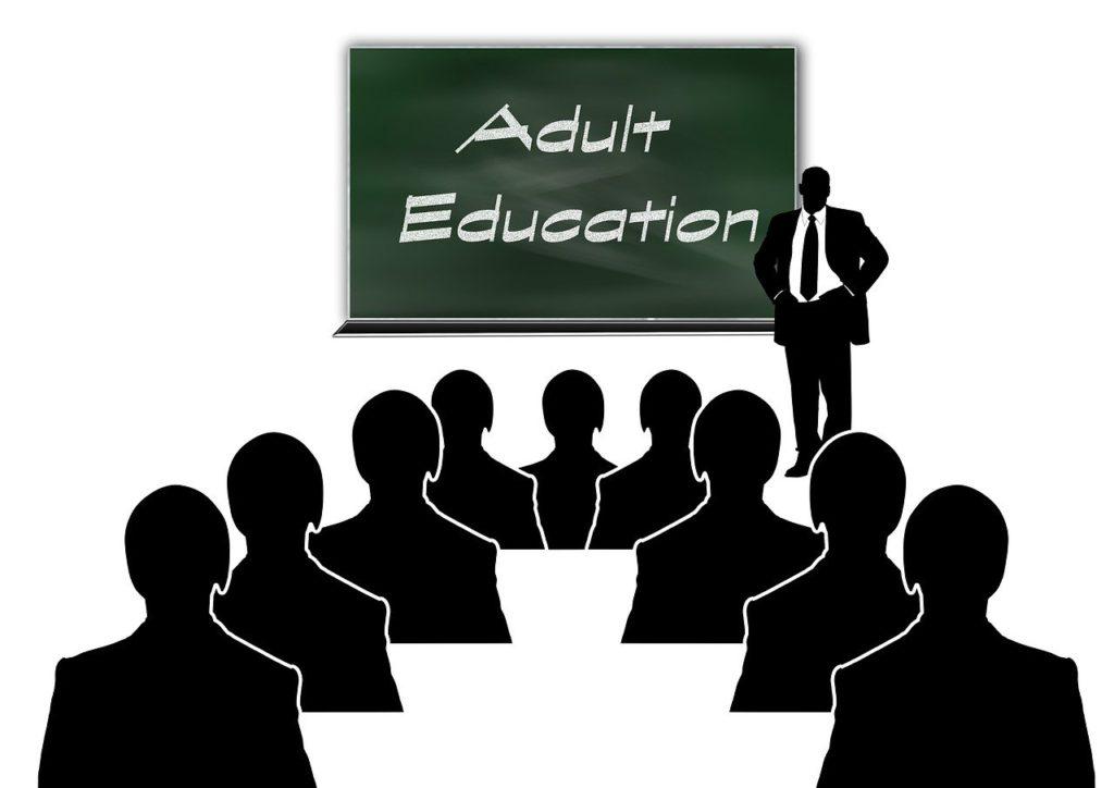 adult education, folk high school, evening courses