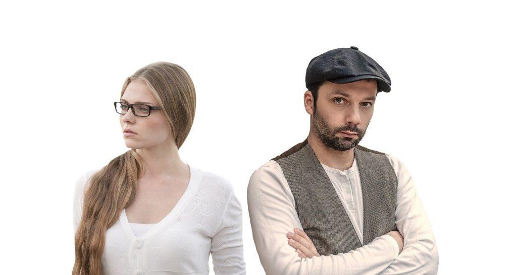 couple, argument, crisis