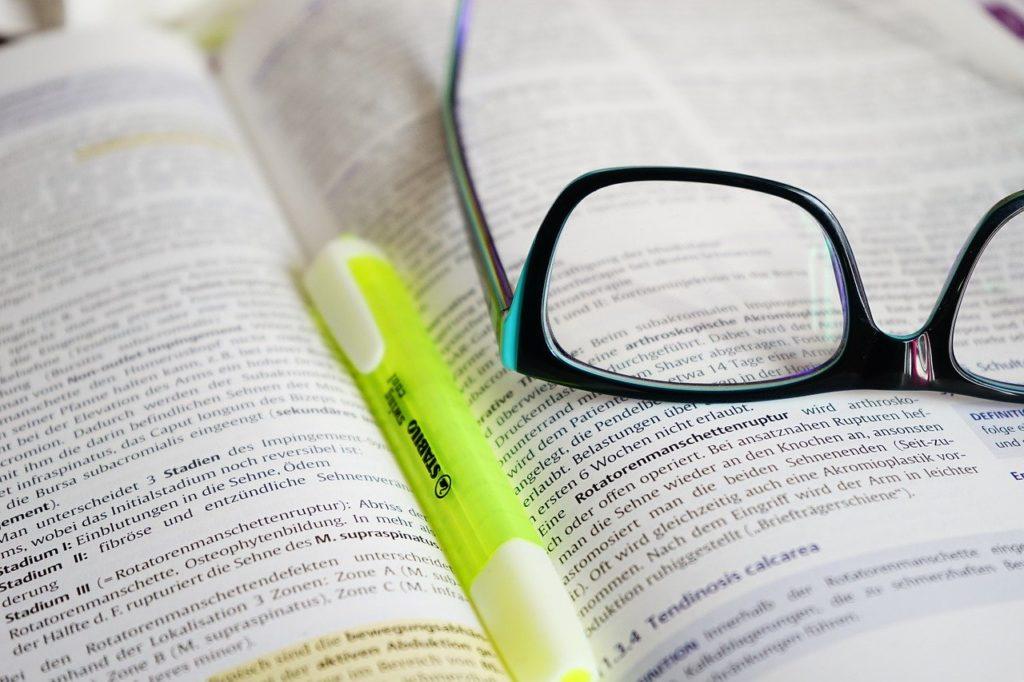 glasses, read, learn